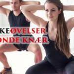 6 effektive styrkeøvelser for vonde knær