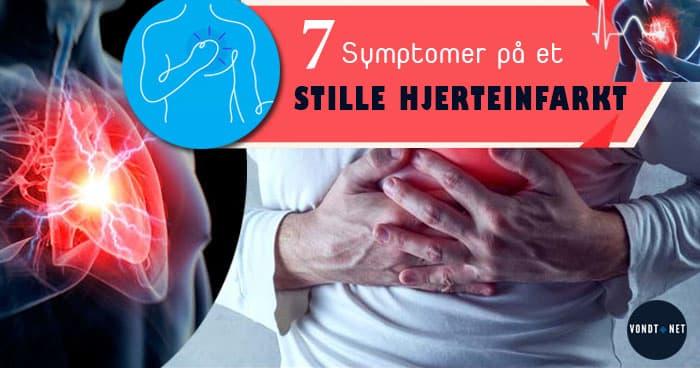 7 symptomer hjerteinfarkt
