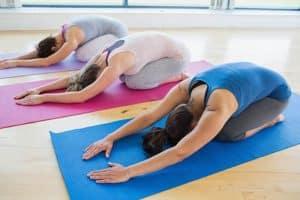 Yogastillingen Balasana