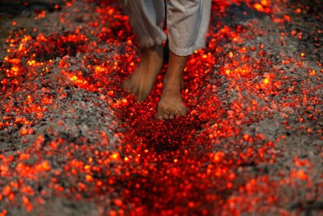 Brennende følelse under foten Det kan være nerveskade
