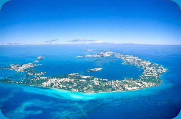 Vakker natur i Bermuda
