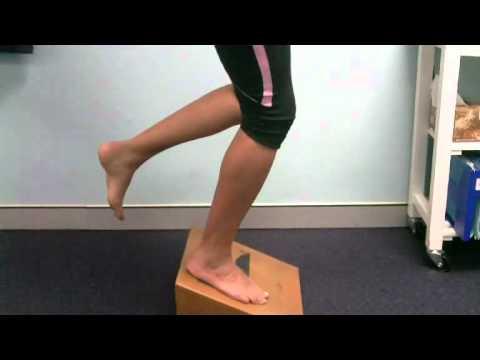 Eksentrisk trening et ben quadriceps hopperkne