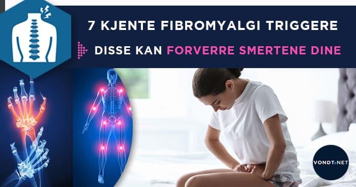 7 Kjente Fibromyalgi Triggere