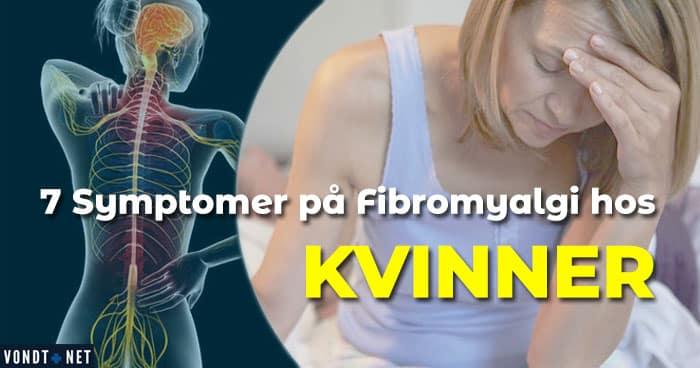 Fibromyalgikvinne