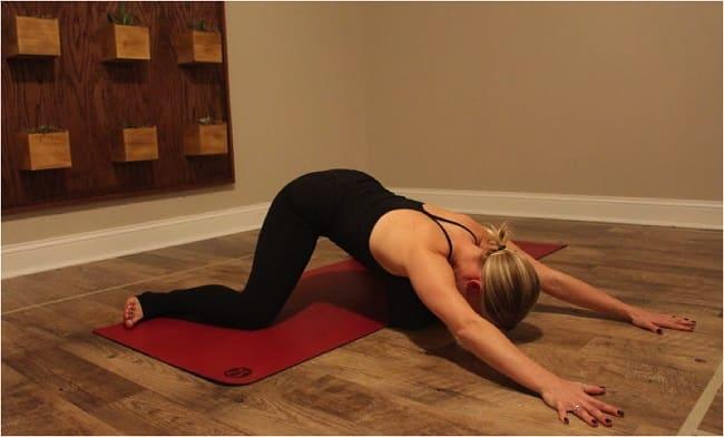 Froskestilling - yoga