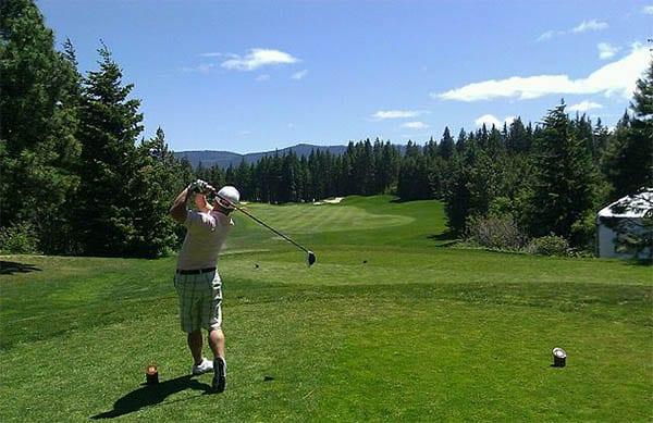 Golfalbue er oppkalt etter sporten golf - Foto Wiki