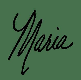 Maria signatur