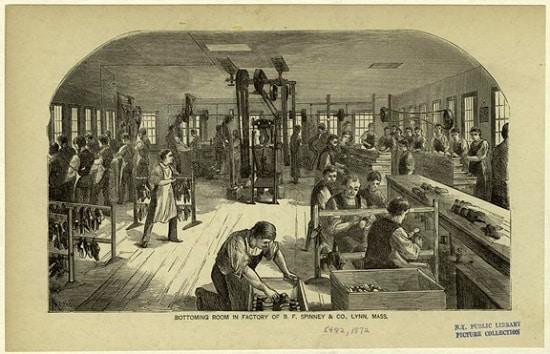 Såletilpasning i gamle dager - Foto Wiki