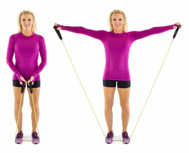 arm øvelser med strikk