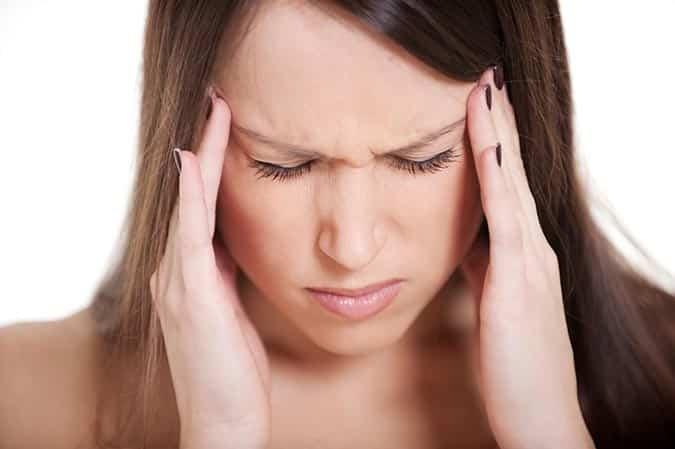 Tinningsmerter og vondt i siden av hodet