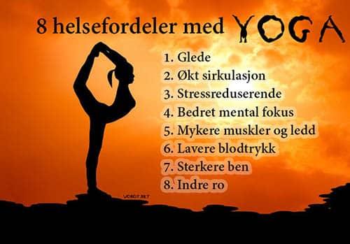 Yoga fordeler 500