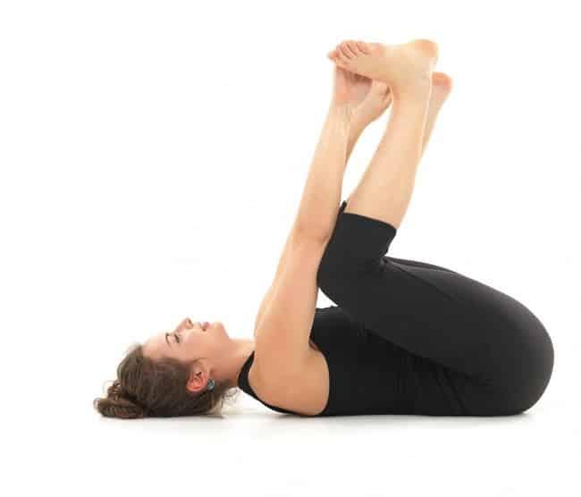 Yogastilling for hofte og indre lår