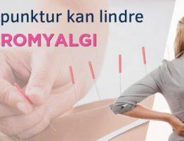 Coverbilde for artikkelen Akupunktur kan Lindre Fibromyalgi på Vondt net