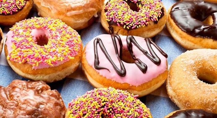 donuts og fritert mat
