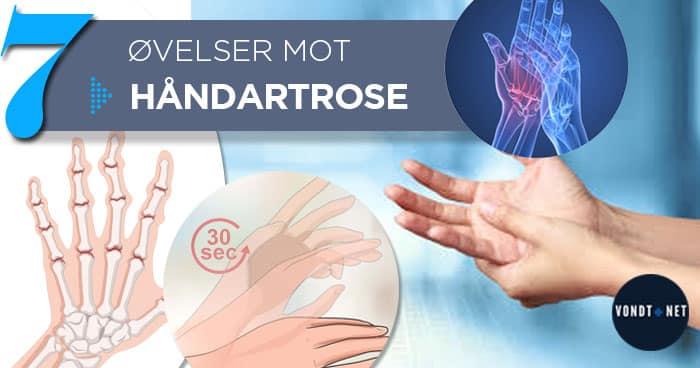 håndartrose øvelser