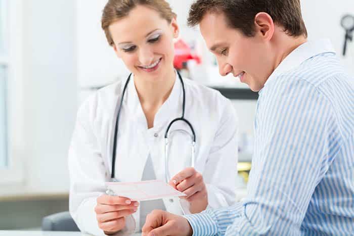 Kvinne lege