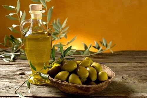 oliven og olje