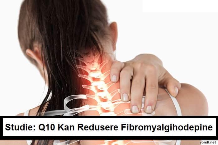 q10 kan lindre fibromyalgihodepine