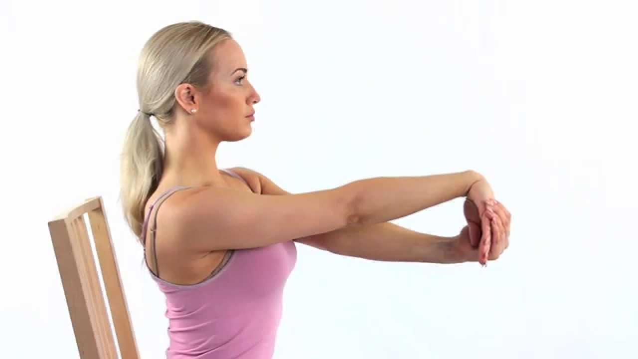 tøyning av underarm